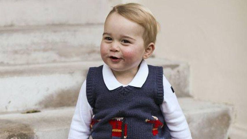 Bei Oma Carole: Prinz George verzückt alle!