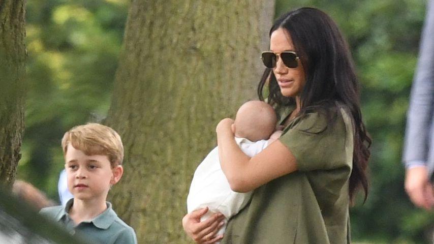 Hier trafen George und Charlotte Baby Archie zum ersten Mal!