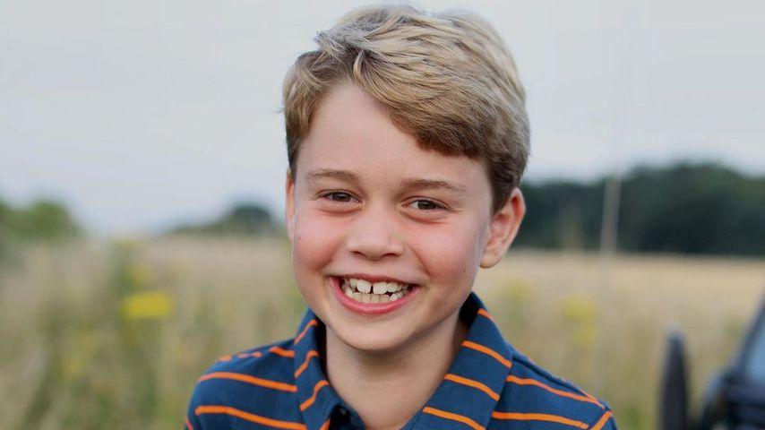 Prinz Georges Porträt zu seinem achten Geburtstag