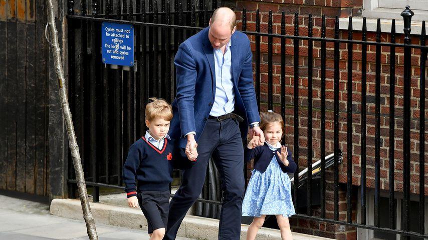 Prinz William verrät: Welches seiner Kinder ist frecher?