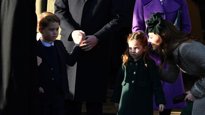Prinz Georges und Charlottes Schule fürchtet Coronavirus