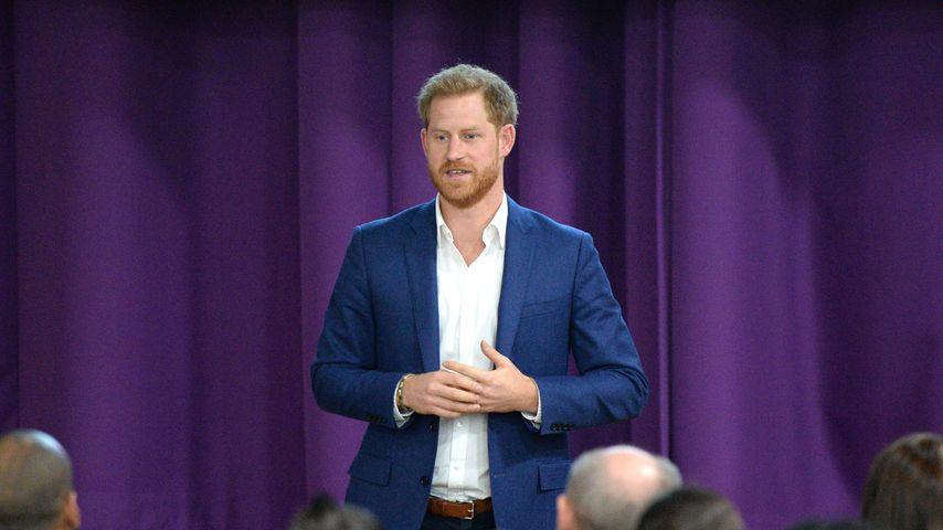 Prinz Harry an der Nottingham Academy, 2019