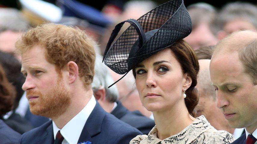 Emotional: Hat Kate bei Prinz Harrys Abschied geweint?