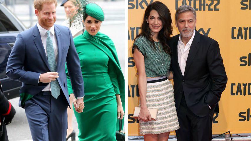 Sind Harry und Meghan gar nicht mit den Clooneys befreundet?