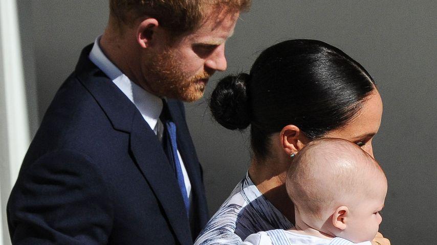 Prinz Harry, Herzogin Meghan und Archie Harrison im September 2019