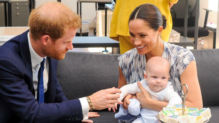 Prinz Harry, Herzogin Meghan und Archie Harrison, 2020