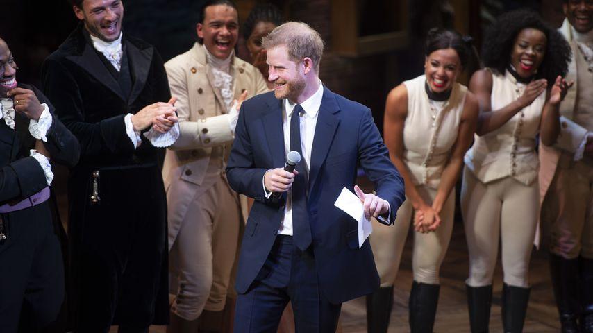 Zweite Karriere? Prinz Harry trällert auf Musical-Bühne!