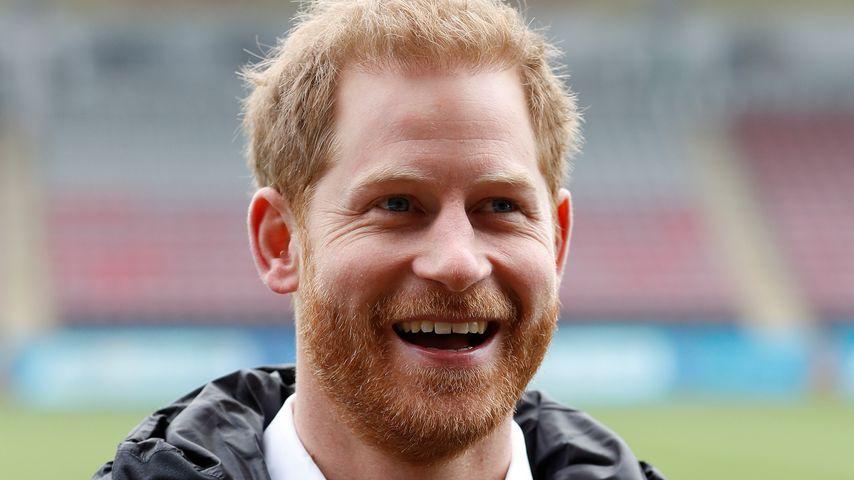 Prinz Harry in London, 2019