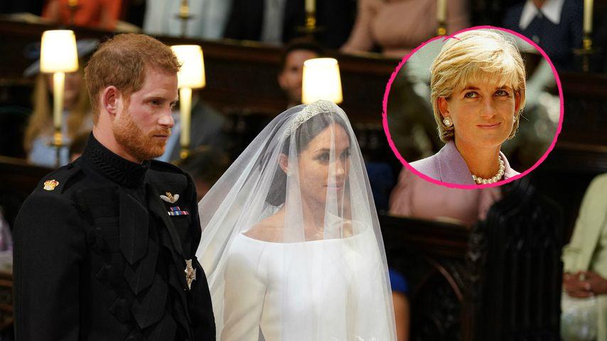 Harry & Meghan: War der Sonnenschein ein Zeichen von Diana?