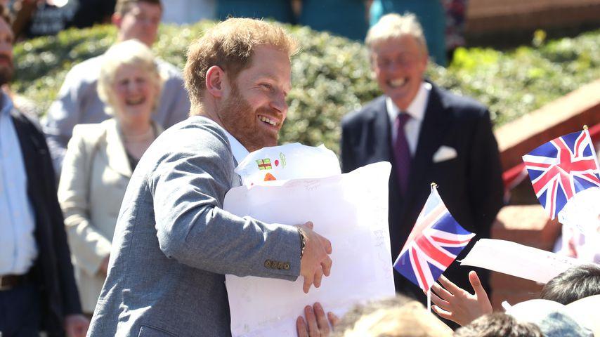 Prinz Harry in England, Mai 2019