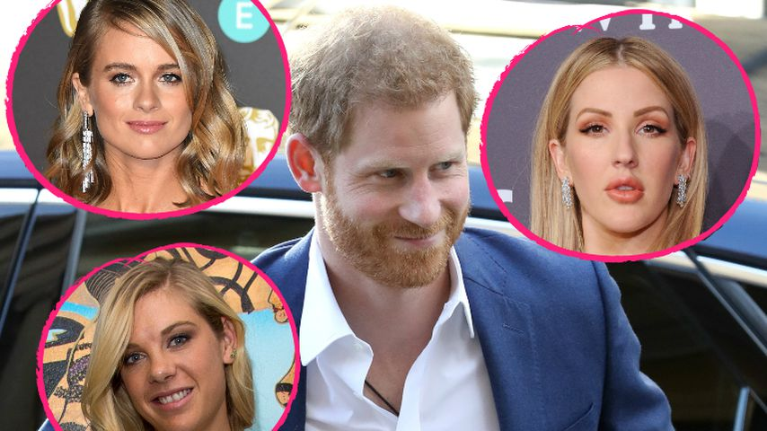 Zur Royal-Wedding: Gleich drei Ex-Girls von Prinz Harry da?