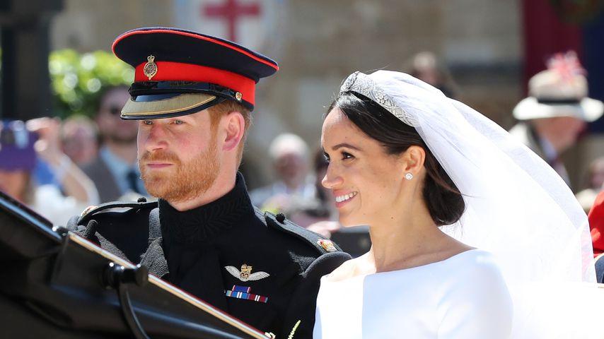 Meghans Heirat mit Harry: Zeichen der Einigkeit und Liebe!