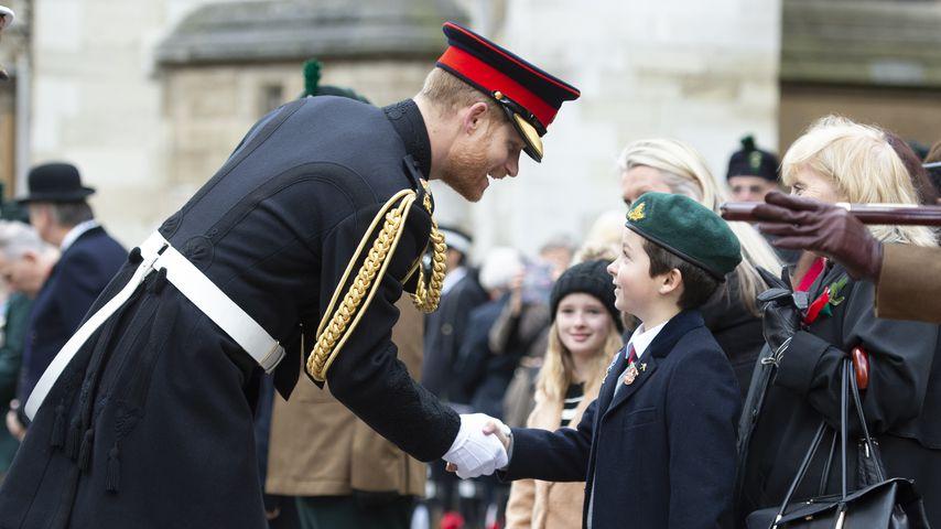 War dieser Junge Prinz Harrys Inspiration für Archies Namen?