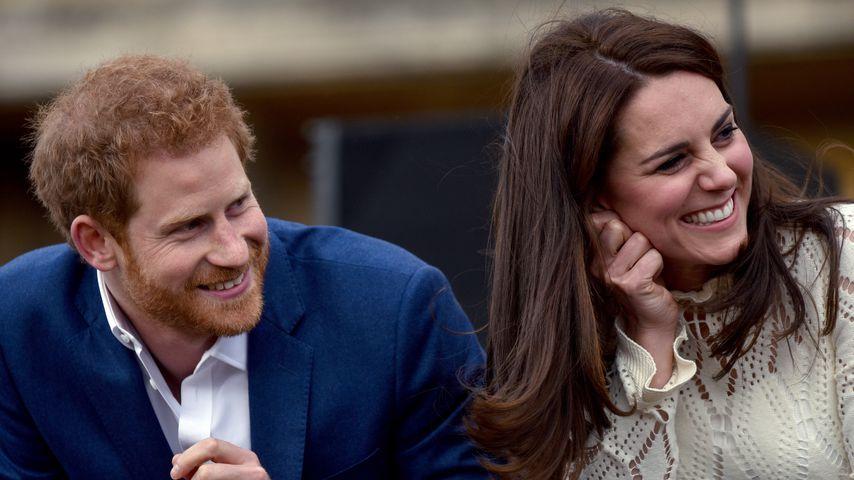 Prinz Harry und Herzogin Kate