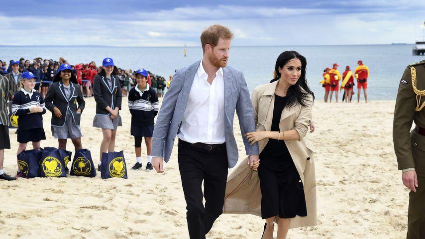 Prinz Harry und Herzogin Meghan im Oktober 2018