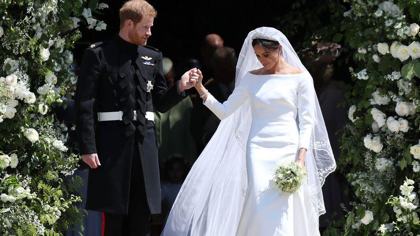 Prinz Harry und Herzogin Meghan am Tag ihrer Hochzeit, Mai 2018