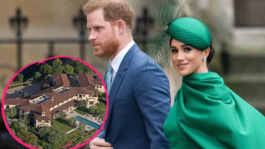 Villa mit zwölf Bädern: Hier sollen Harry und Meghan wohnen