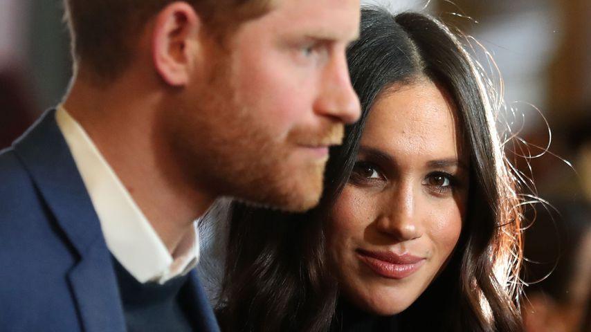Prinz Harry und Herzogin Meghan im Jahr 2018