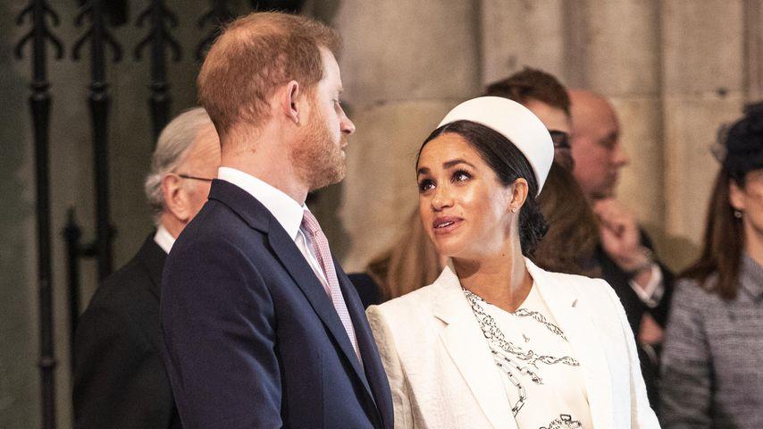 Prinz Harry und Herzogin Meghan im März 2019