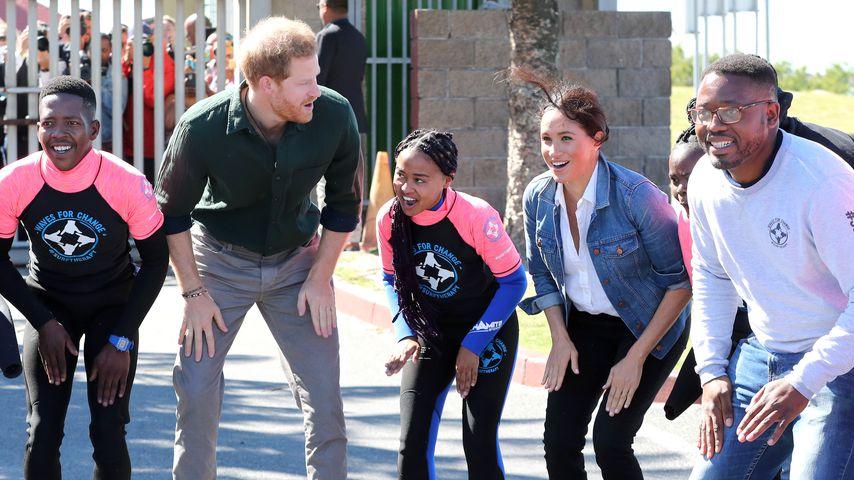 Prinz Harry und Herzogin Meghan in Kapstadt 2019