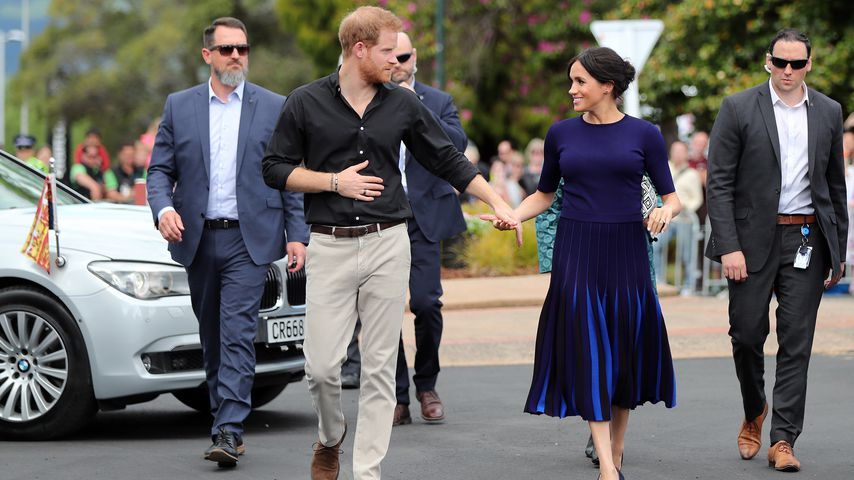 Prinz Harry und Herzogin Meghan in Rotorua, Neuseeland