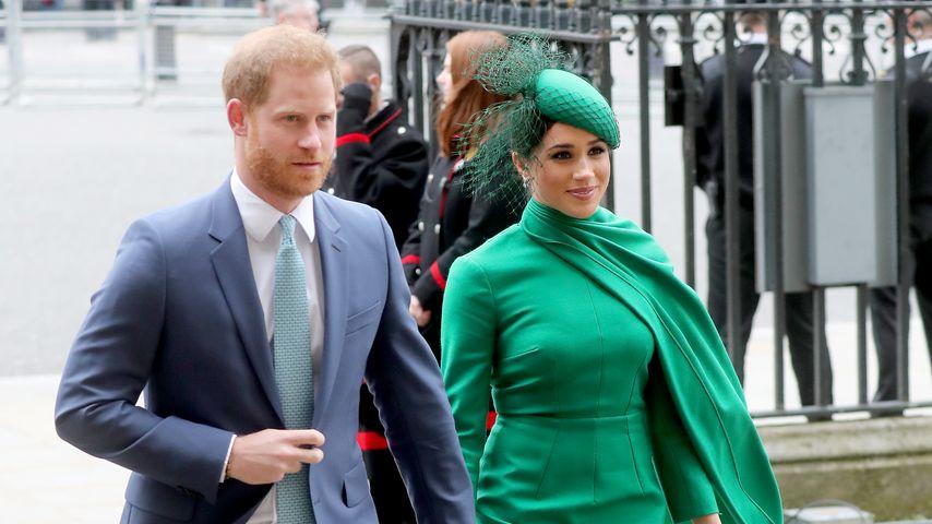 Wegen Royal-Monogramm: Fans sind wütend auf Harry und Meghan