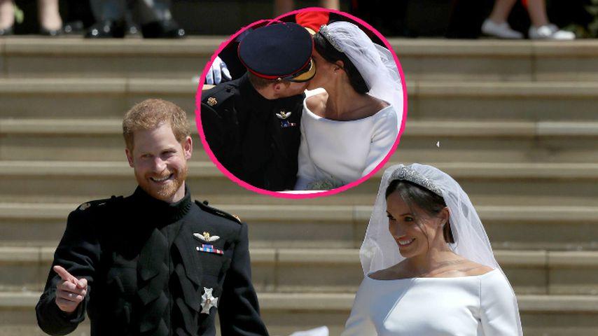 Harry & Meghan: Der zweite Wedding-Kuss blieb fast unbemerkt