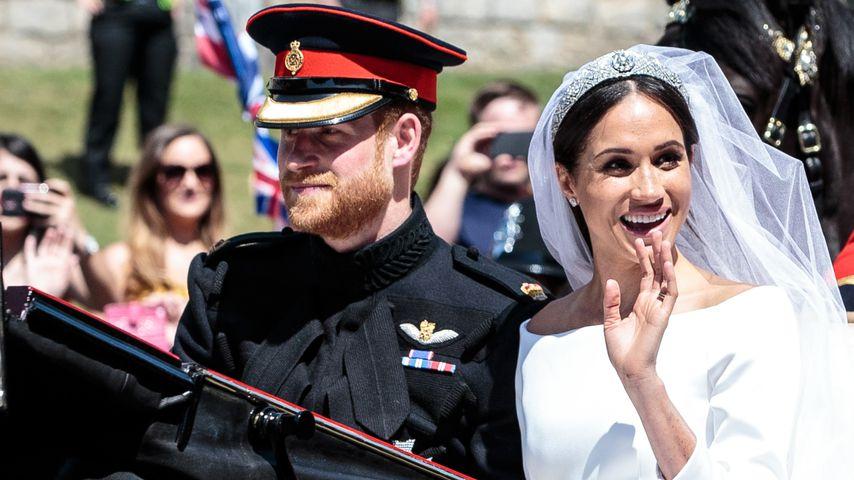 Prinz Harry und Herzogin Meghan nach ihrer Trauung