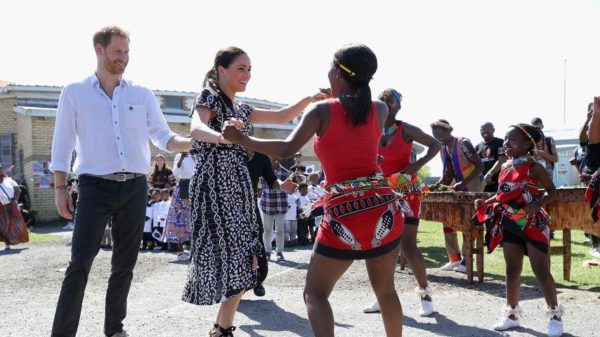Prinz Harry und Herzogin Meghan in Kapstadt, 2019