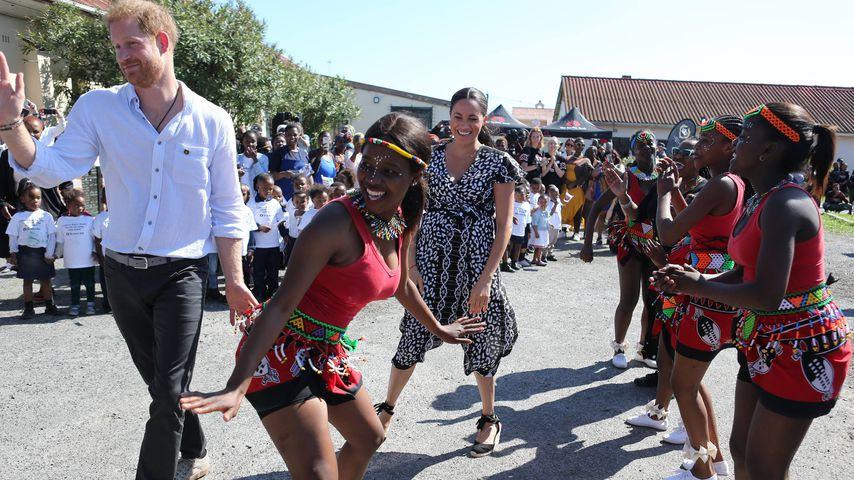 Prinz Harry und Herzogin Meghan während ihrer Afrika-Reise