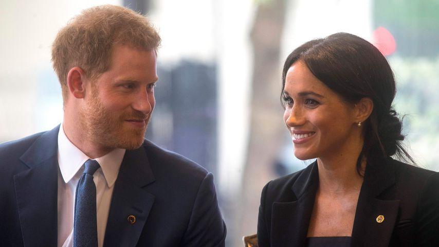 Jede Woche Blumen! So umschwärmt Prinz Harry seine Meghan