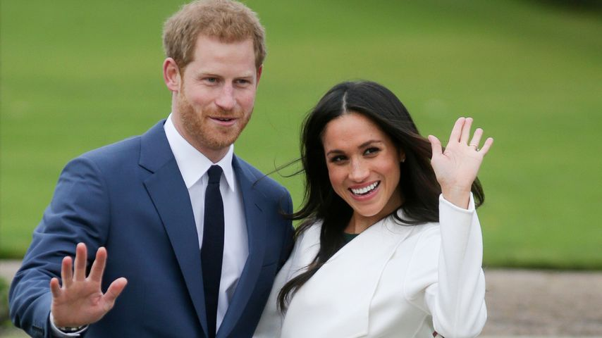 Prinz Harry und Herzogin Meghan in London im November 2017