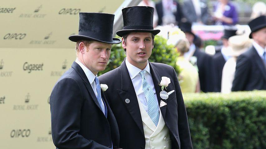 Prinz Harry und Jake Warren