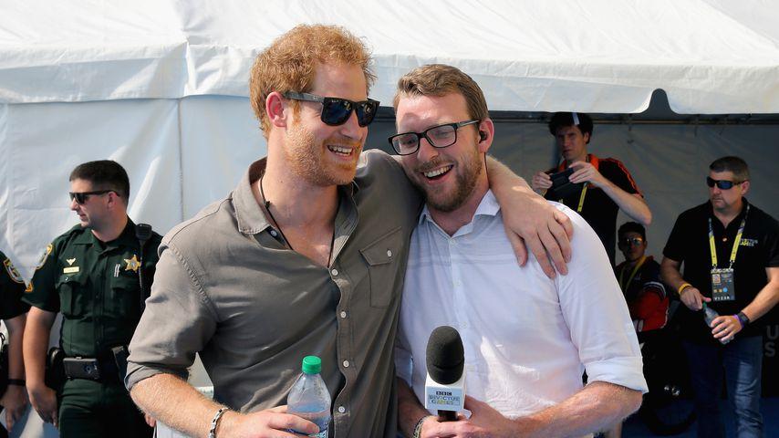 Prinz Harry und JJ Chalmers bei den Invictus Games 2016