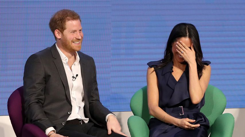 Prinz Harry und Meghan Markle beim Royal Foundation Forum