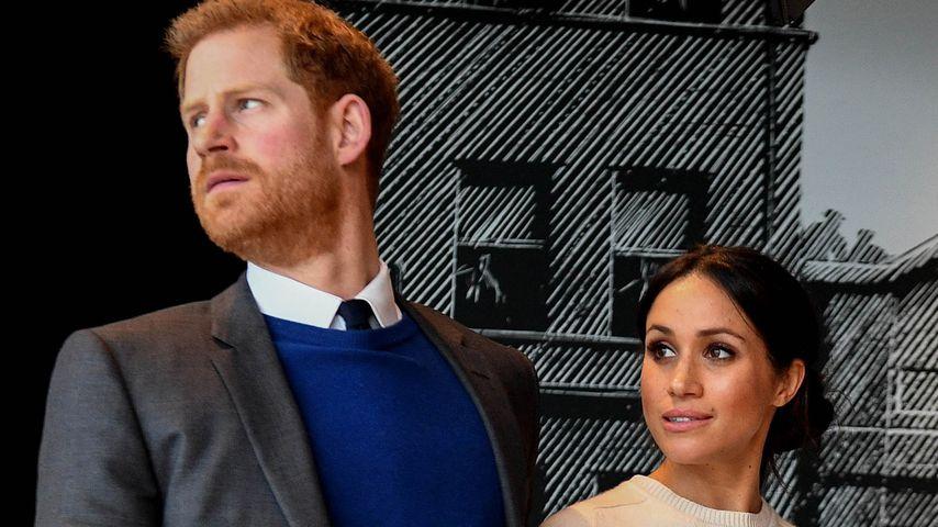 Prinz Harry und Herzogin Meghan bei einem Event in Belfast