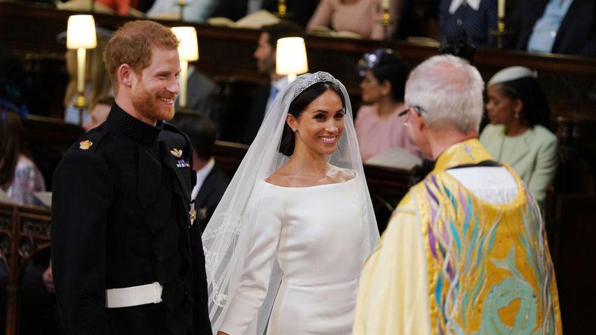 Prinz Harry und Meghan Markle bei ihrer Hochzeit