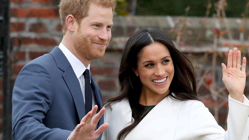 Prinz Harry und Herzogin Meghan im Kensington Palace in London