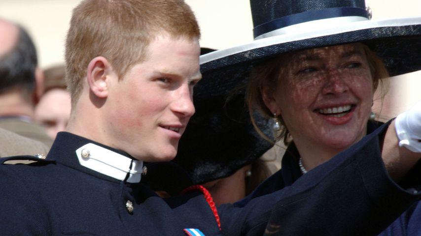 Prinz Harry und Nanny Tiggy Pettifer
