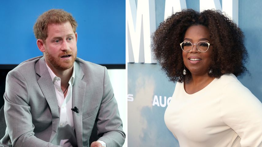 Seine Idee! Prinz Harry bat Oprah um Zusammenarbeit für Doku