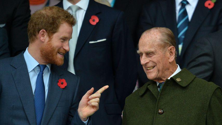 Philips Beerdigung: Tritt Harry als Königliche Hoheit auf?