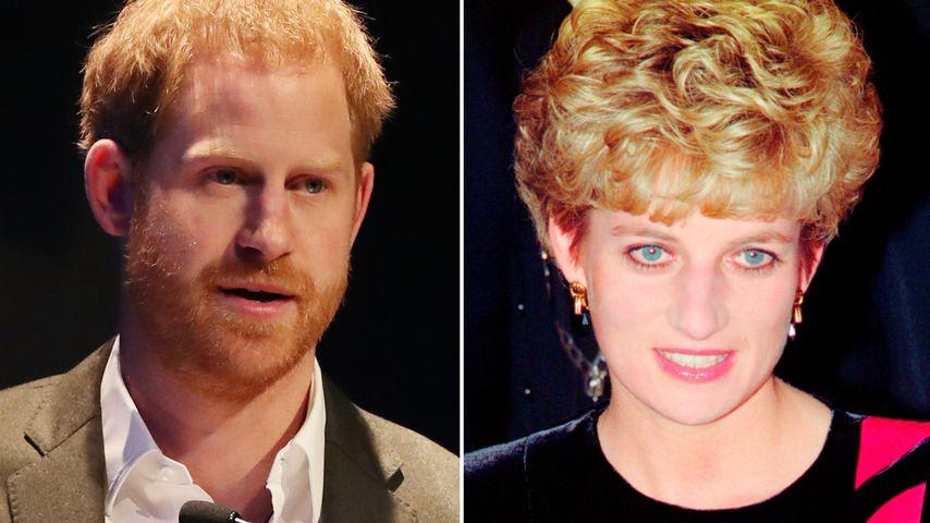 """Prinz Harry: Dianas Tod hat ein """"riesiges Loch"""" hinterlassen"""