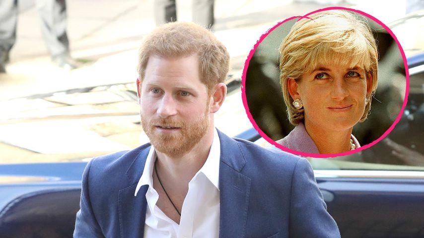 Prinz Harrys Hochzeit: Diana wird gedanklich bei ihm sein!