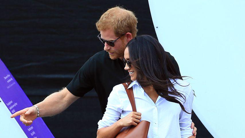 Prinz Harry: Kennt Papa Charles jetzt schon seine Meghan?