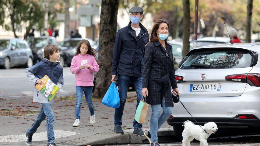 Prinz Joachim und seine Familie in Paris im Oktober 2020
