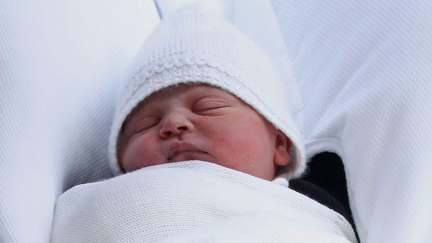 Prinz Louis kurz nach seiner Geburt
