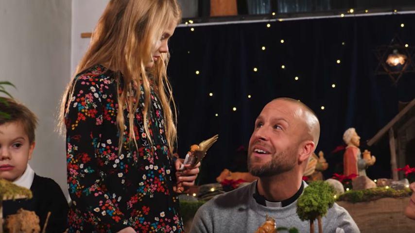 Prinz Oscar und Prinzessin Estelle im traditionellen Weihnachtsvideo, 2019