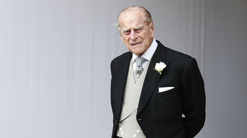 Prinz Philip bei der Hochzeit von Prinzessin Eugenie im Oktober 2018