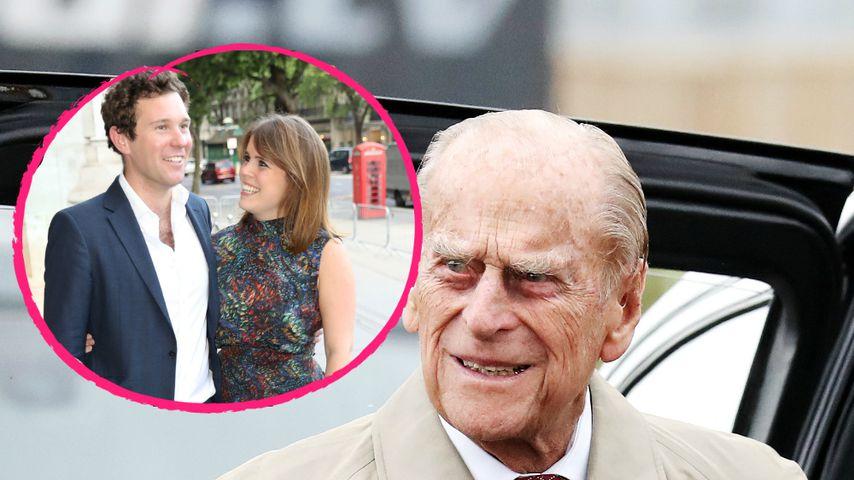 Keine Lust: Schwänzt Prinz Philip die Hochzeit von Eugenie?