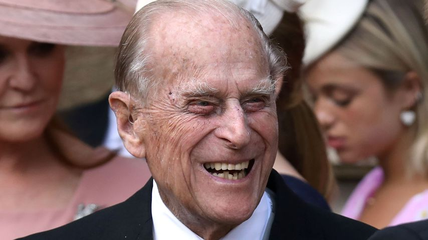 Prinz Philip bei der Hochzeit von Lady Gabriella Windsor und Thomas Kingston